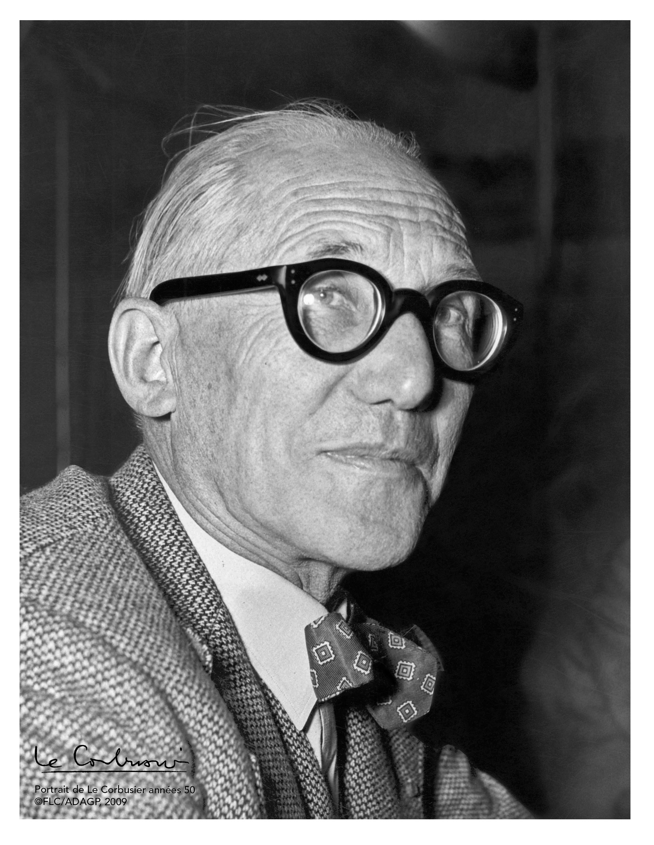 Portrait Le Corbusier